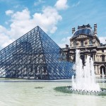 Sightseeing am Louvre