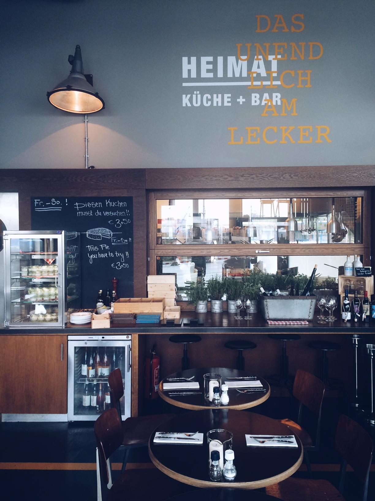 Emejing Heimat Küche Bar Hamburg Contemporary - Thehammondreport.com ...