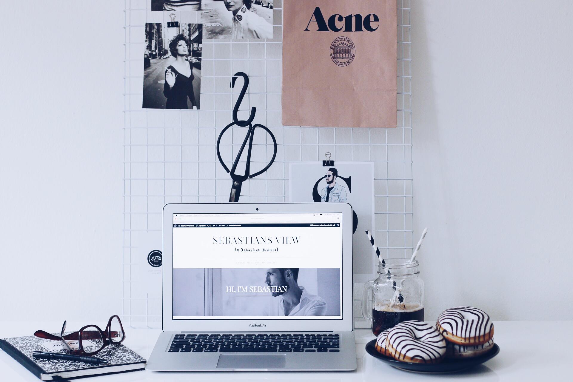 workspace, Arbeitsbereich, Büro, Sebastiians View