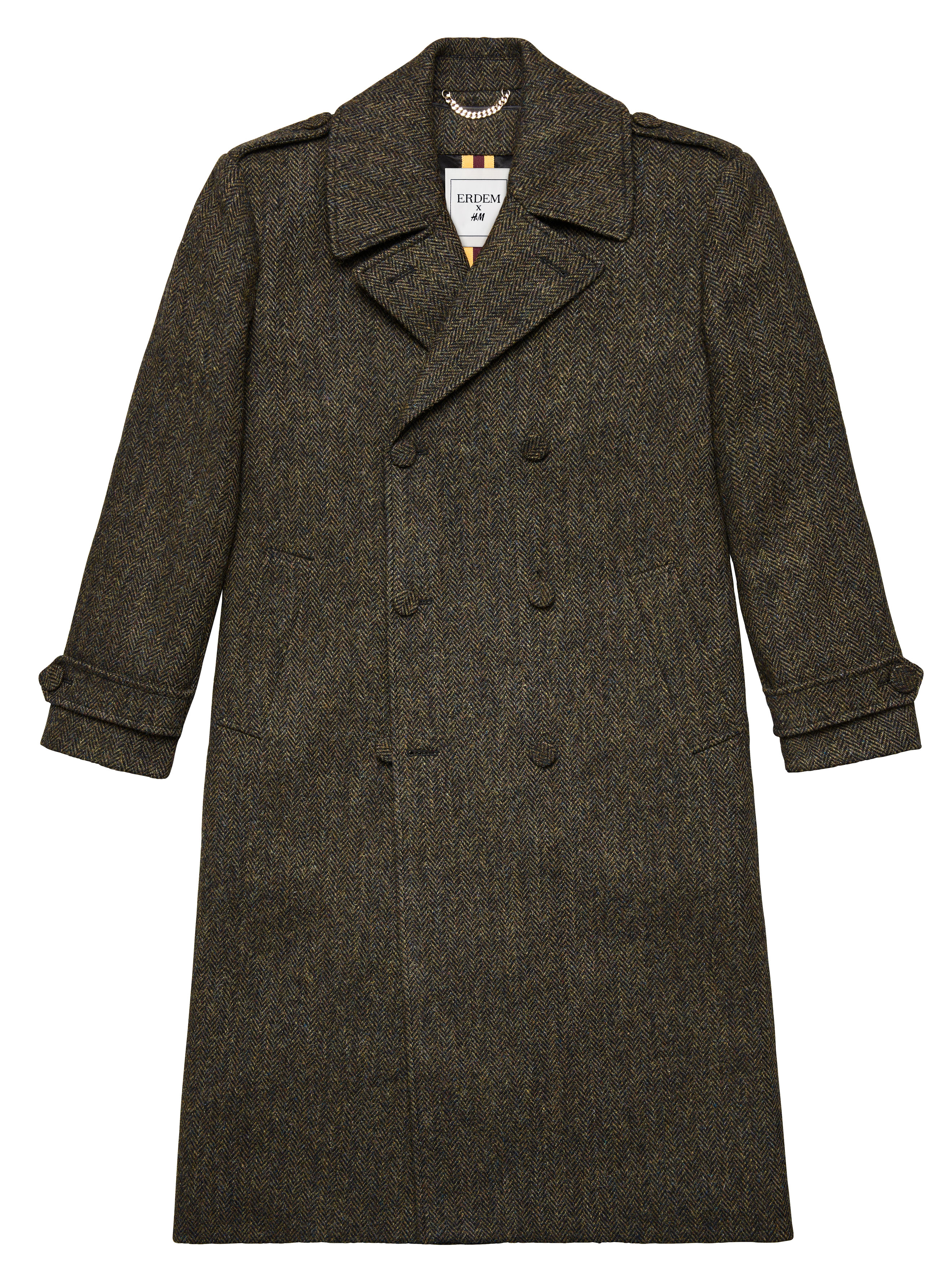 H&M _Erdem_Men_Quentin_Harris_Tweed_Coat_299,99EUR