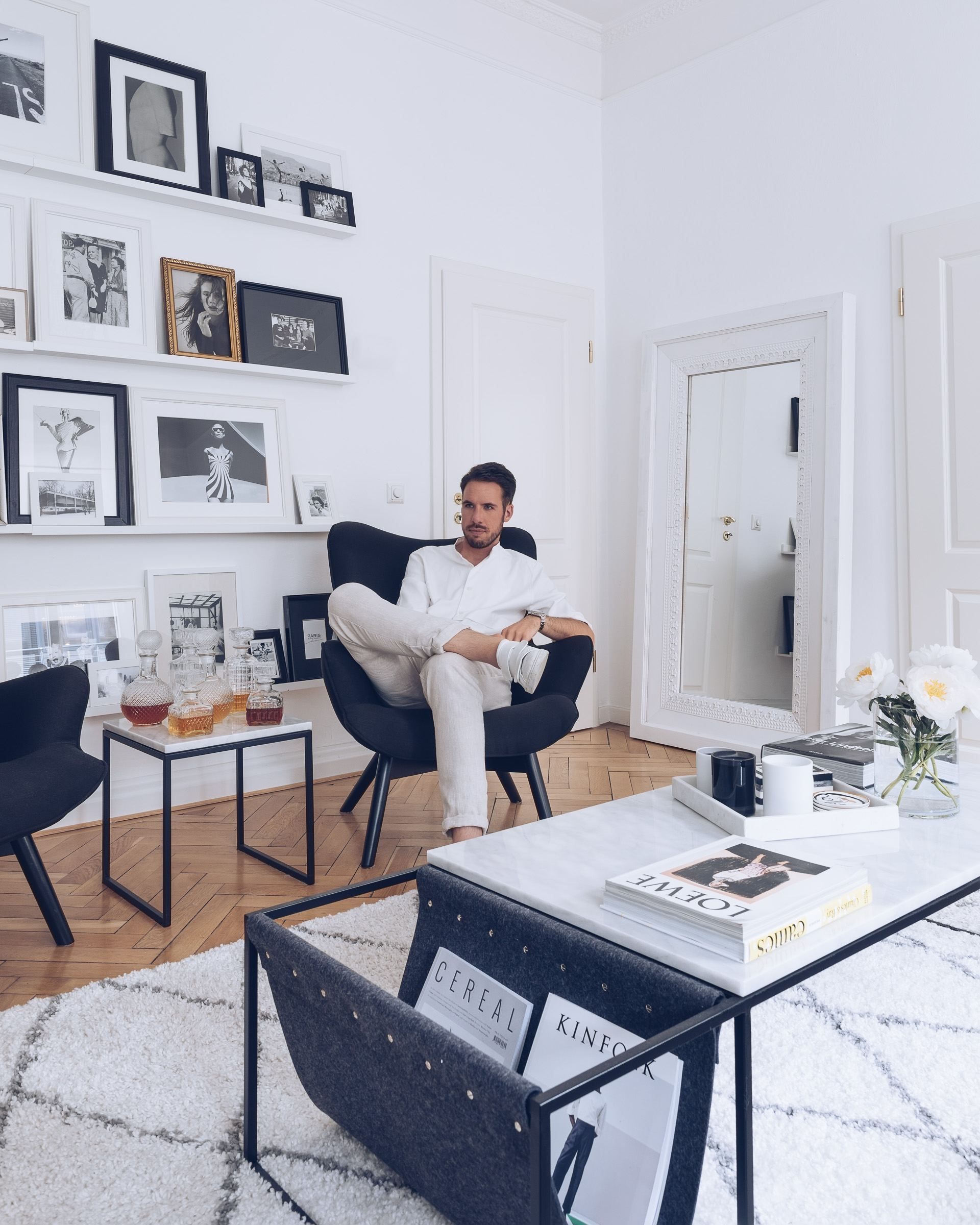 At Home Sebastian Schmidt by rose time cologne