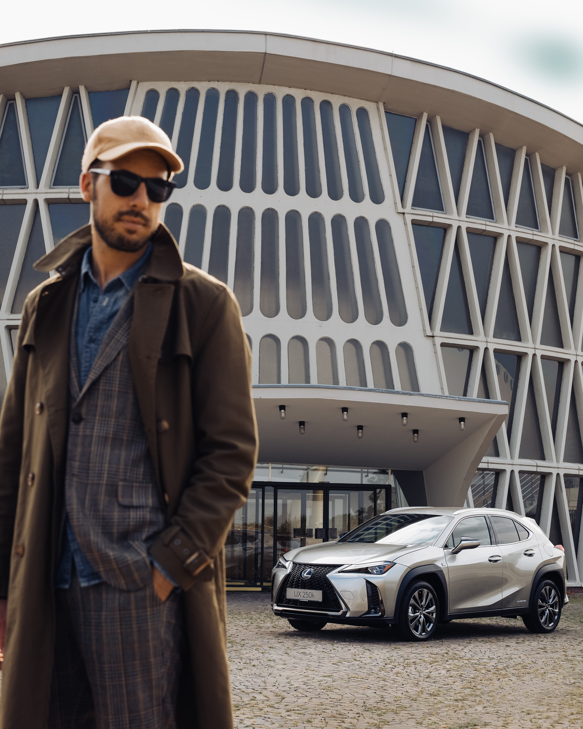 LEXUS UX Architecture Sebastian Schmidt by Rose Time CAR