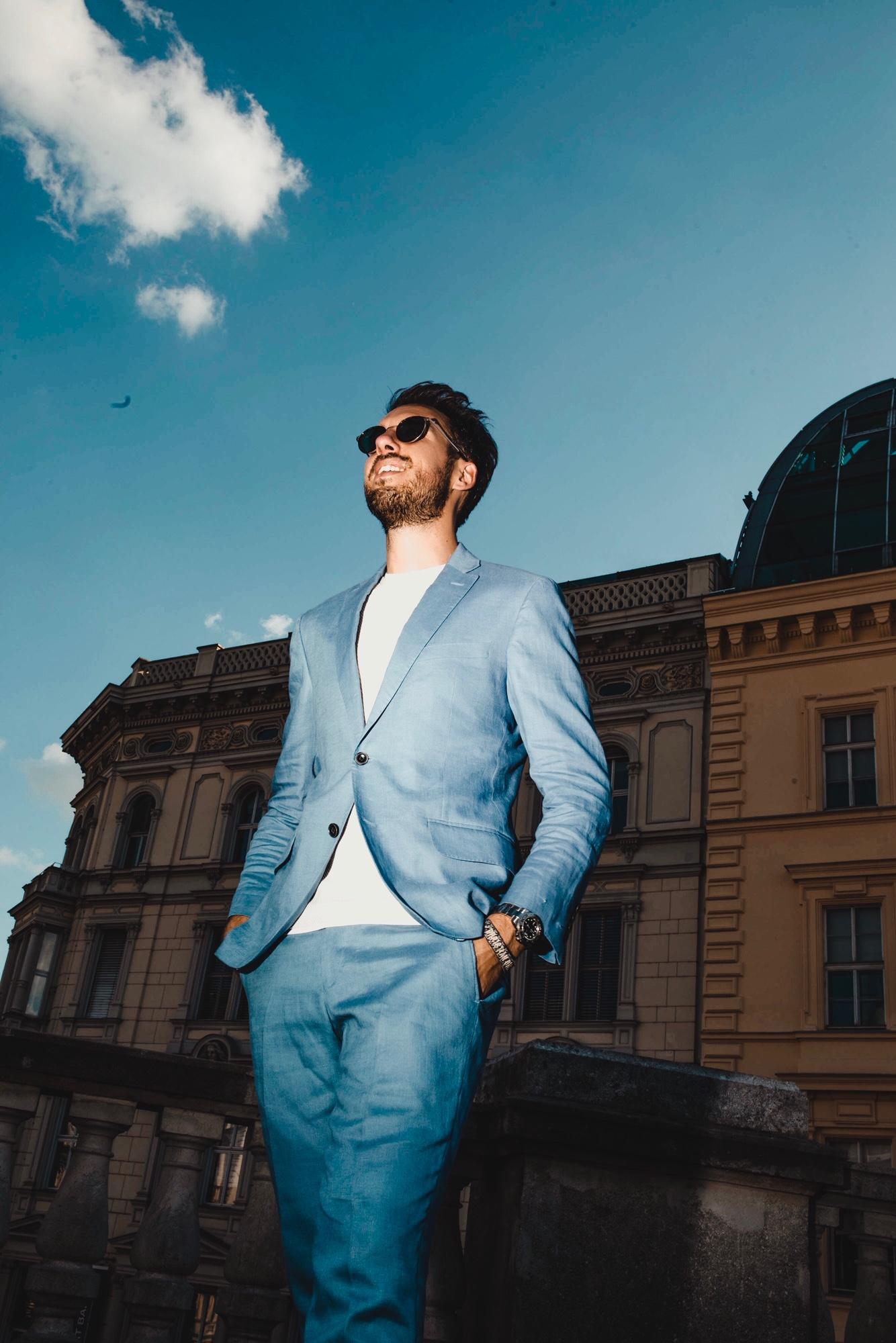 Leinenanzug Sebastian Schmidt 2